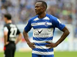 Victor Obinna jugará la próxima temporada en el Darmstadt tras su paso por el Duisburgo. DonAukurier