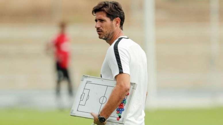 Víctor cree que su equipo merece más puntos. MalagaCF