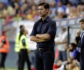 Málaga suspend temporairement Victor de ses fonctions. MalagaCF