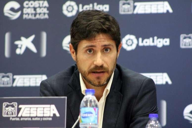 Victor Sánchez mostró su postura tras salir del Málaga. BeSoccer