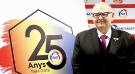 Decretan libertad provisional para dos directivos de la Federación Andorrana. Twitter/FAF