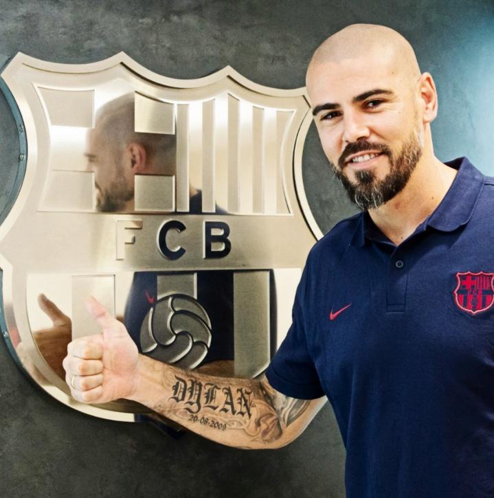 Valdés mantiene la misma ambición que tuvo como jugador. FCBarcelona