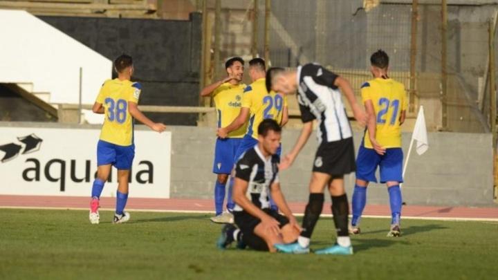 Segunda victoria del Cádiz en pretemporada. Twitter/Cadiz_CF