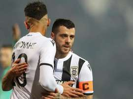 Greek football has come to a halt due to the coronavirus. Twitter/PAOK_FC