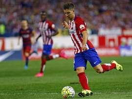 Foi Vietto quem decidiu o jogo a favor dos espanhóis. ClubAtléticoDeMadrid