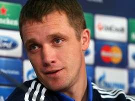 Viktor Goncharenko dirigió al BATE Borisov en Champions. UEFA