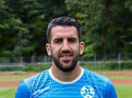 Vincenzo Marchese, durante su etapa en el Kickers. Liga3