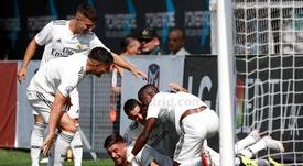 Vinícius consiguió dos goles. RealMadrid