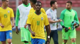 Brasil quiere contar con Vinicius y Rodrygo. AFP