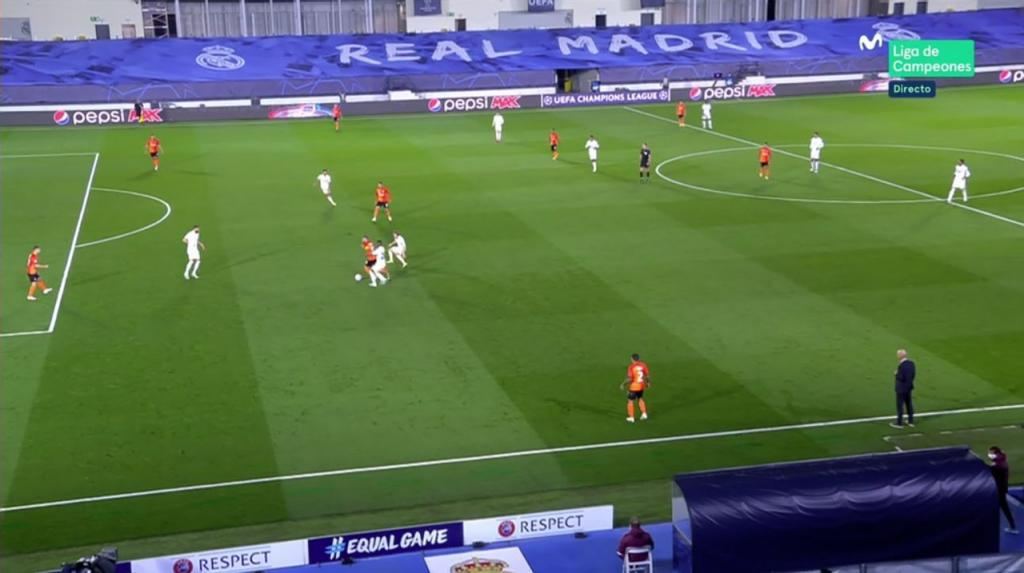 Gol del Real Madrid al Shakhtar en la Champions