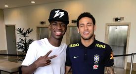 Serginho ve a Vinicius llegando al nivel de Neymar. ViniciusJunior