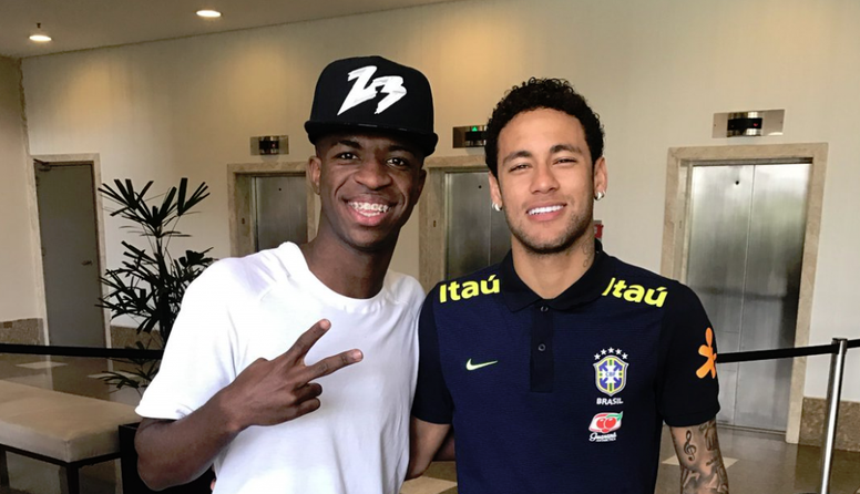 PSG want Vinicius as a bargaining chip for Neymar. ViniciusJR