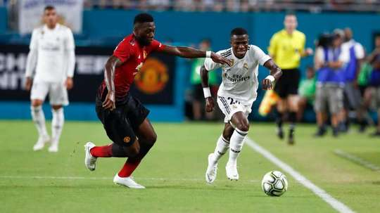 Vinicius Jr made a strong debut but came under fire for his diving antics. RealMadrid