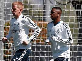 Vinicius continues on his road to recovery. RealMadrid