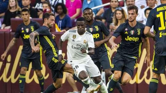 Vinícius jouera en D2 avec la Castilla. EFE
