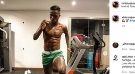 Vinicius, au top de sa forme. Instagram/viniciusjr