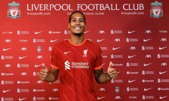 Il Liverpool annuncia il rinnovo di Van Dijk fino al 2025. LiverpoolFC