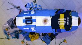 Stefano Ceci, amigo de Maradona, sobre la muerte del 'Pelusa'. EFE