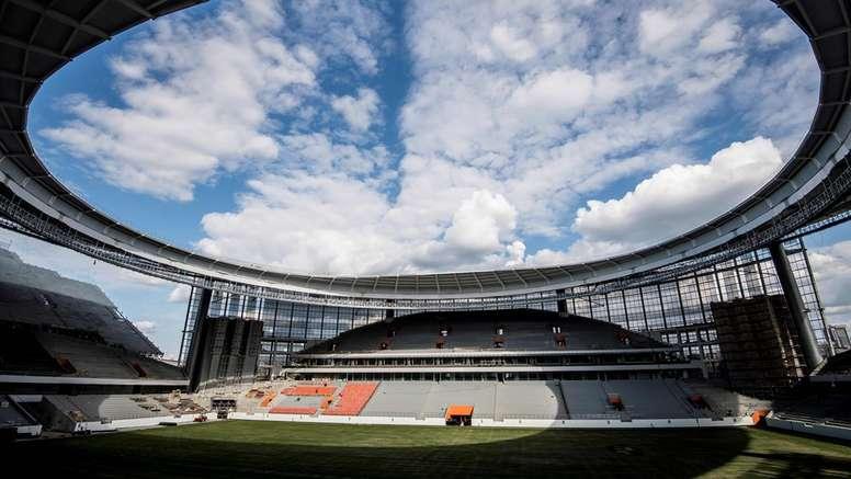 Los estadios de Rusia 2018 no podrán ser usados hasta abril para que el frio no arruine el cesped
