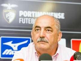 Vítor Oliveira não se conteve nas palavras. Portimonense