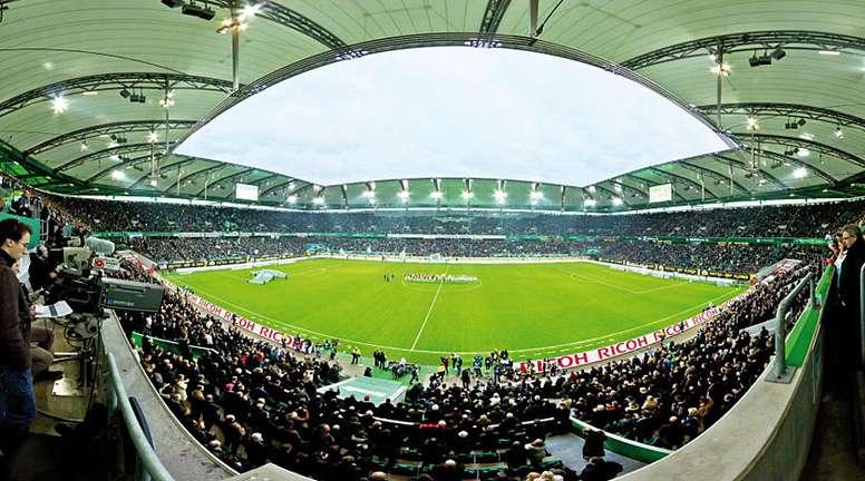 El Volkswagen-Arena acogió el Wolfsburgo-Borussia. VLF-Wolfsburg