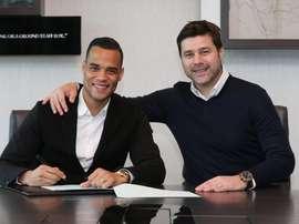 El guardameta holandés ha firmado hasta junio de 2018. Tottenham