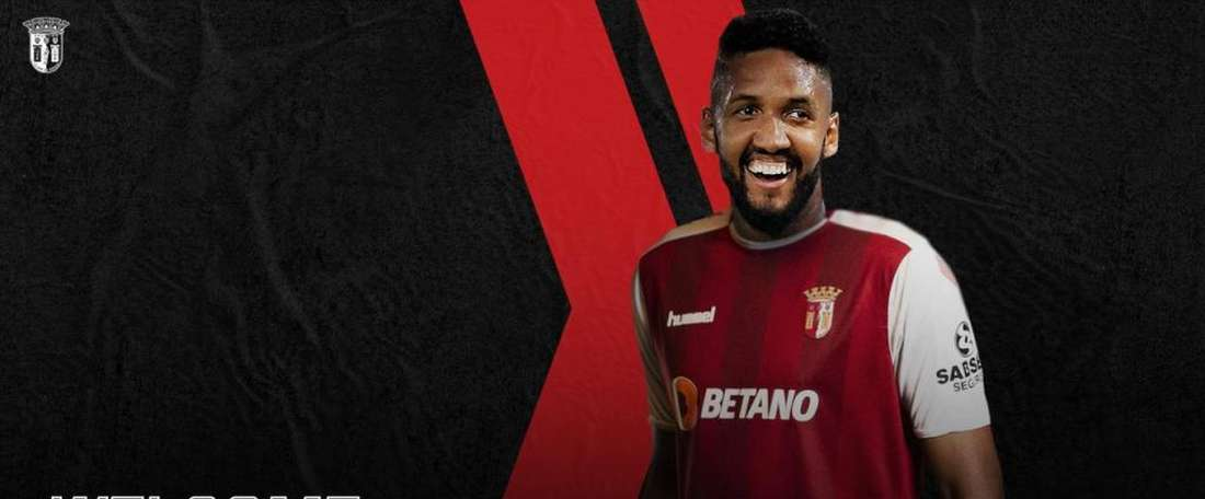 Wallace Fortuna chega ao Sporting de Braga. SCBragaOficial