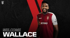 Wallace Fortuna, presentado con el Sporting de Braga. SCBragaOficial