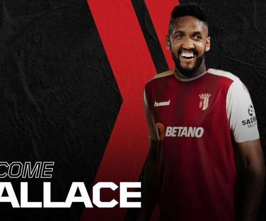 Le Sporting Braga enrôle Wallace. SCBragaOficial