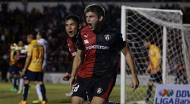 El conjunto de Guadalajara consiguió una importante victoria. AFP/EFE