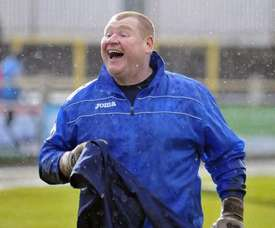 After back-up keeper Wayne Shaw left Sutton United, they ran out of men to play in goal. AFP