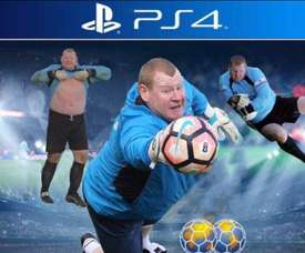 Así sería la portada del FIFA 18 si Wayne Shaw fuese el elegido por EA Sports. Twitter
