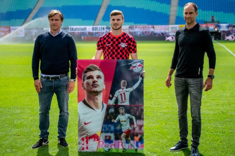 Leipzig fait ses adieux à Timo Werner. Twitter/RBLeipzig