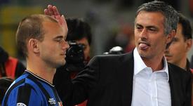 Mais revelações de Sneijder. AFP