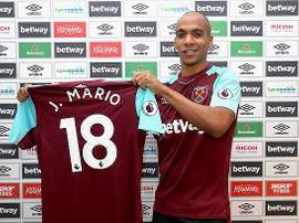 Mario has joined the 'Hammers' on loan until the end of the season. WestHamUtd