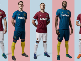 West Ham debuted their new kit in a promo video on social media. Twitter/WestHamUnited