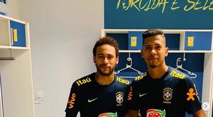 Weverton, conhecido por caneta em Neymar, pode deixar o Cruzeiro. Instagram/weverton_guilherme99
