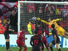 Wijnaldum, comme contre le Barça, allume la mèche pour Liverpool. Movistar