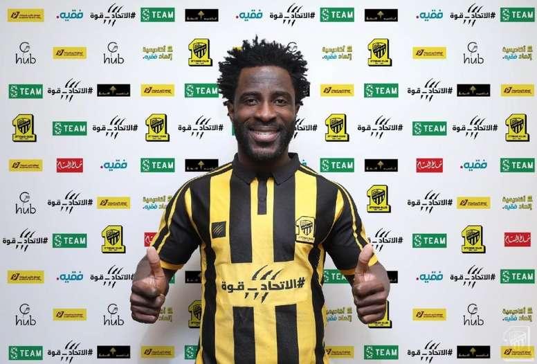 Bony fue confirmado por el club saudí. Ittihad