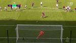 Wilfried Zaha rompió la buena racha del Tottenham de penalti
