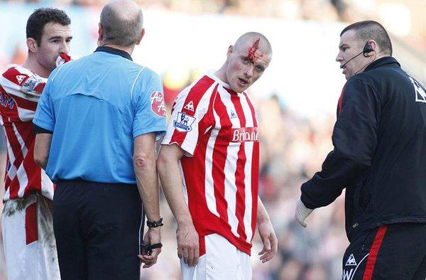 Wilkinson lo dio todo por el Stoke. Twitter