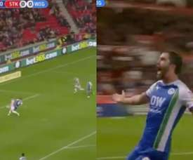 Will Grigg sigue marcando goles. Captura/Sky