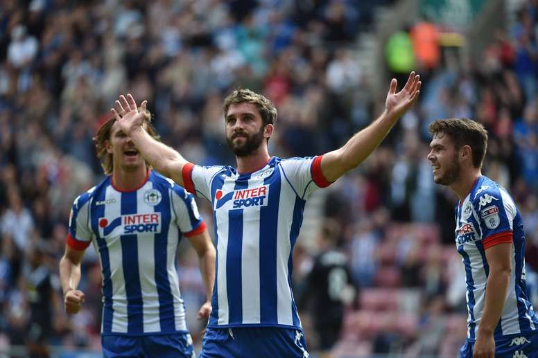 Will Grigg, más 'on fire' que nunca: repóker en 24 minutos. Wigan
