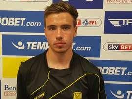 Will Miller seguirá cedido en el Burton Albion. WillMiller