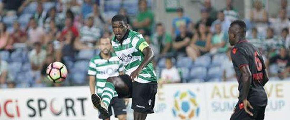O internacional português tem sido insistentemente apontado à saída do Sporting CP. Twitter/SCP
