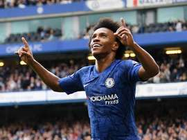 Willian loves London. ChelseaFC