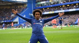Willian finalement vers la MLS ? Twitter/ChelseaFC