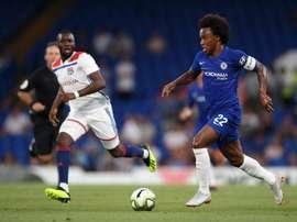 Lyon s'est incliné face à Chelsea en ICC. Chelsea FC