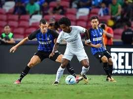 Inter levou a melhor sobre o Chelsea. Twitter