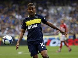 Wilmar Barrios pourrait louper le Mondial. EFE